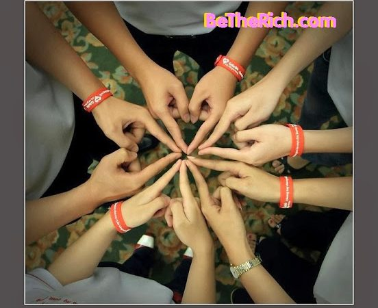 CONNECTING FRIENDS – CONNECTING LOVE: SLOGAN CỦA CTY TNHH BE THE RICH